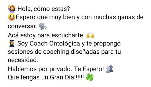Sesiones De Coaching Ontológico Profesional