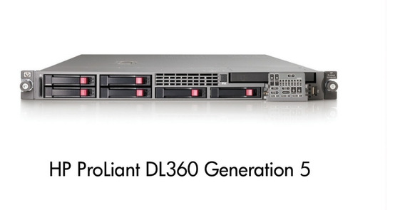 Hp Proliant Dl360 G5 Hd Sas Intel Quad-core Baratíssimo