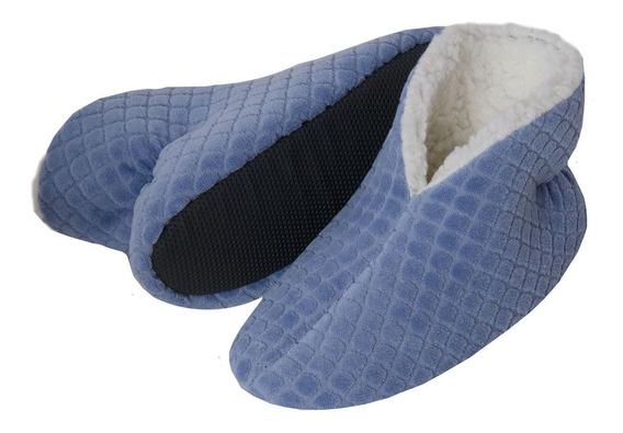 Pantufa Bota Flexível Plush C/ Pelúcia 9625
