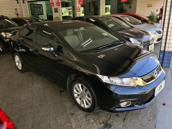 Honda Civic 1.8 Lxs Flex Automático 2014