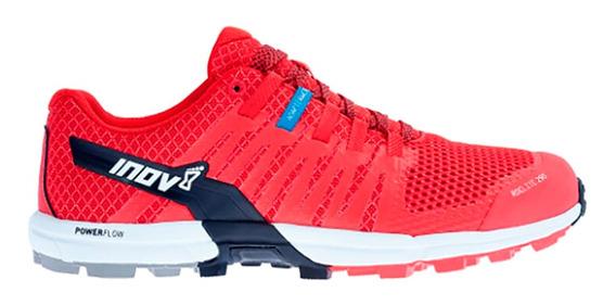 Tenis Hombre Inov8 Rojo Carrera Montaña Roclite 290