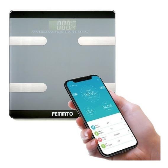 Balanza Digital Baño Bluetooth Persona 180kg Nueva Electro