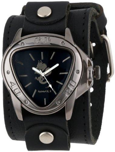 Nemesis Lbb928s - Reloj De Acero Inoxidable Chapado En Ione