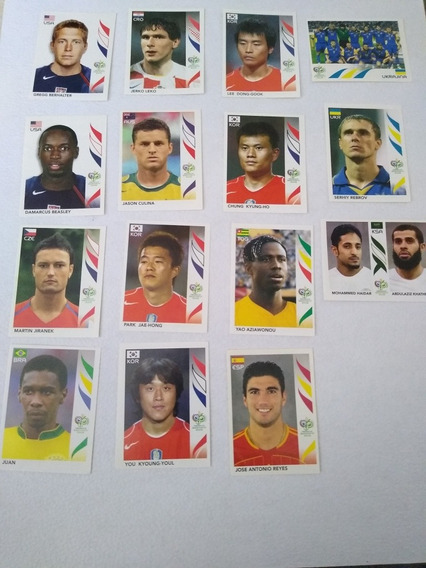 Estampas Panini Germany 2006 Lote De 43