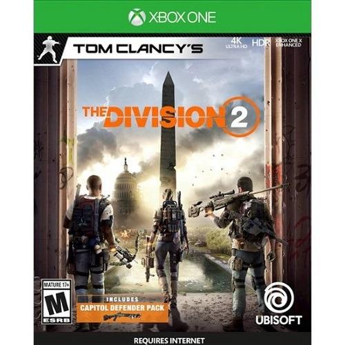 Jogo The Division 2 - Xbox One Mídia Física