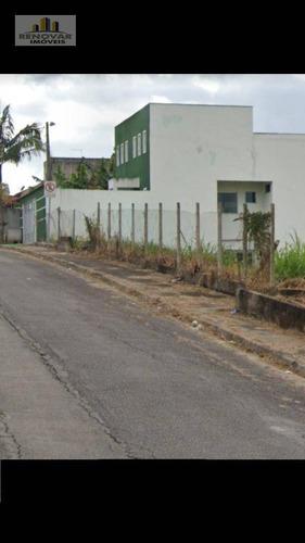 Terreno À Venda, 286 M² Por R$ 195.000,00 - Vila Nova Socorro - Mogi Das Cruzes/sp - Te0095