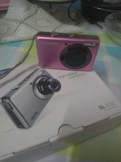 Câmera Digital Samsung Sl 202 Pink