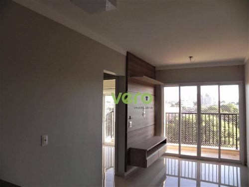 Apartamento Com 2 Dormitórios À Venda, 61 M² Por R$ 380.000,00 - Vila São Pedro - Americana/sp - Ap0125