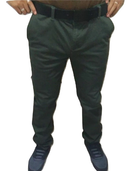 Pantalon Casual De Vestir Slimfit Skinny Envio Gratis