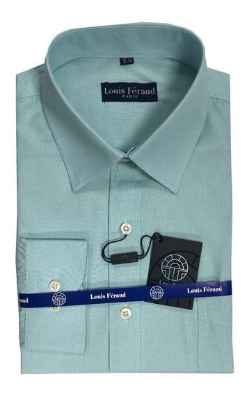 Camisas Unicolor Louis Feraud Manga Larga De Vestir