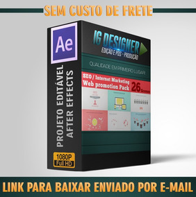 Projetos After Effects (seo Internet Marketing ) Exclusivo!
