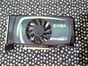 Placa De Video Geforce Gtx 550ti 1gb Gddr5 192bits Evga Caix