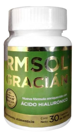 Rmsol Gracian (5 Frascos) Con Ácido Hialurónico