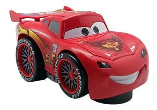 Auto Cars Rayo Mc Queen Choca Cambia Dirección Sonido 15 Cm