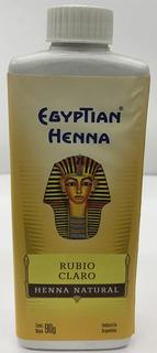 Egyptian Henna Natural 90 Gr Rubio Claro