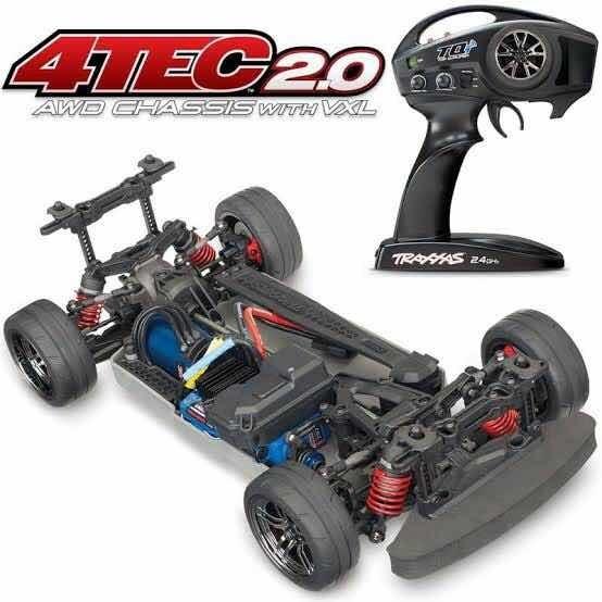 Automodelo Traxxas 4-tec 4x4 3s Com Kit Para 90km/h