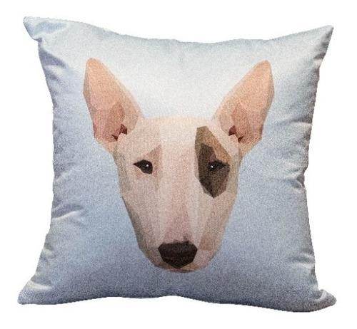 Cojín Decorativo Bull Terrier Love 40 Cm
