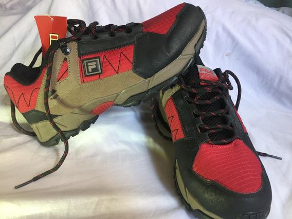 Fila Outdoor Zapatos Montañismo Originales Talla 8.5 (eeuu)