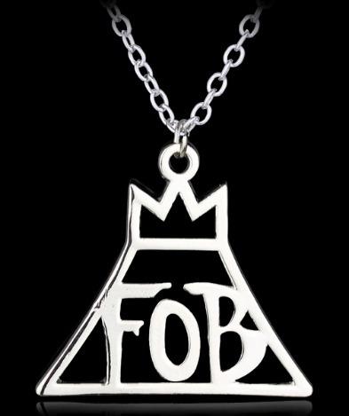 Collar Fob Fall Out Boy Metalico
