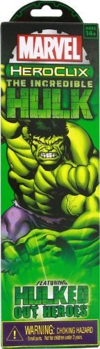 Marvel Heroclix Increíble Hulk Booster