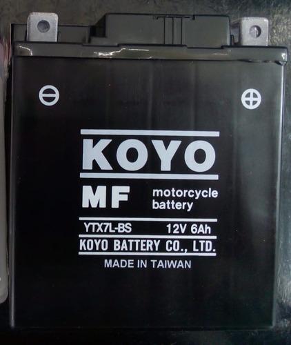 Batería Koyo Ytx7lbs, Envío.