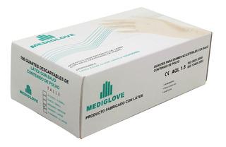 Guantes De Látex Descartable Examen (10x100 Un) - Mediglove