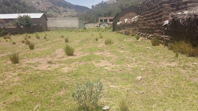 Vendo Terreno Puno Por Ocasión - Centro Poblado Jayllihuaya