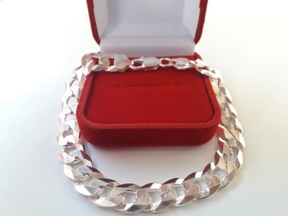 Pulseira De Prata Escama De Peixe, Prata 925 Promoção Oferta
