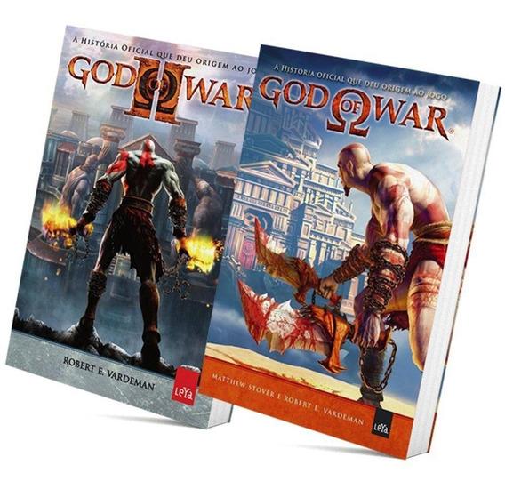 Pack Livros God Of War Volumes 1 E 2 Novos Reembalados