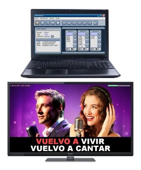 Rockola Ec 13.200 Karaoke Con Gestion De Mesas
