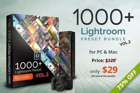 1000+ Premium Lightroom Presets Adobe + Brinde