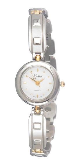Reloj Montana Swiss Sumergible Mb201013lttwd Mov Suizo