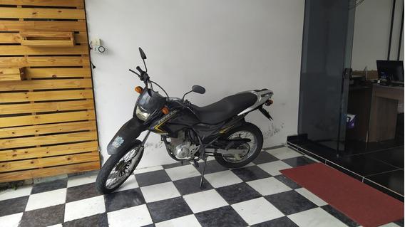 Honda Nxr 150 Bros Esd 2012 Preta Tebi Motos