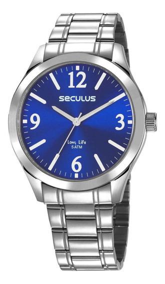 Relógio Seculus 2 Anos De Garantia - 23656g0svna1