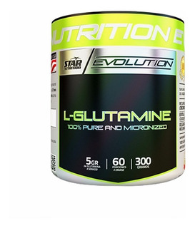 Glutamina 300 Gr Star Nutrition Evolution