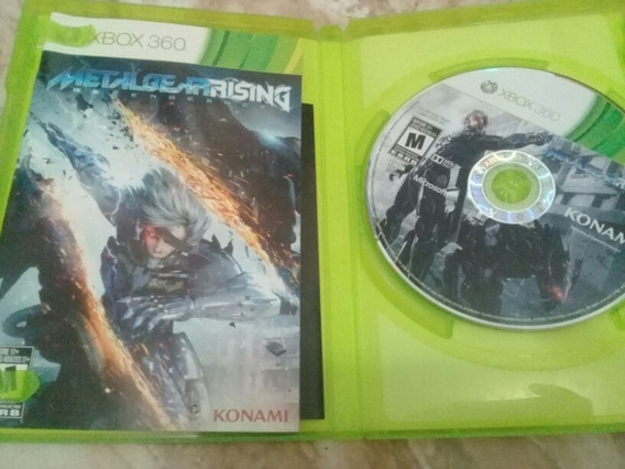 Metal Gear: Rising Revengence Para Xbox 360