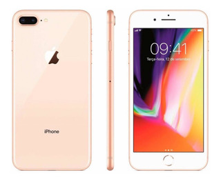 iPhone 8 Plus 64g Vitrine/garantia/completo 12 X Sem Juros