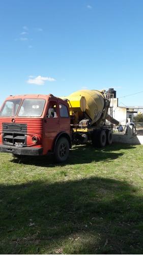 Camión Mixer Hormigonero 5 Mts Trompo