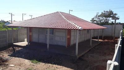 Kit De Casa Pré Moldada Em Concreto Modelo Tijolinho
