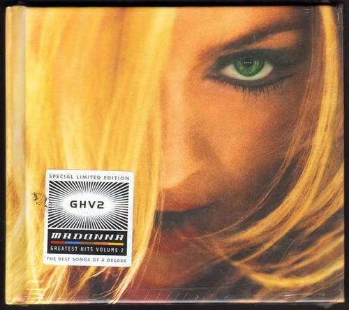 Madonna Ghv2 Cd Original Nuevo Y Sellado.