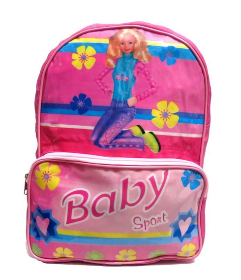 Mochila Colegial Baby Simil Barbie Espalda 6154 - Children