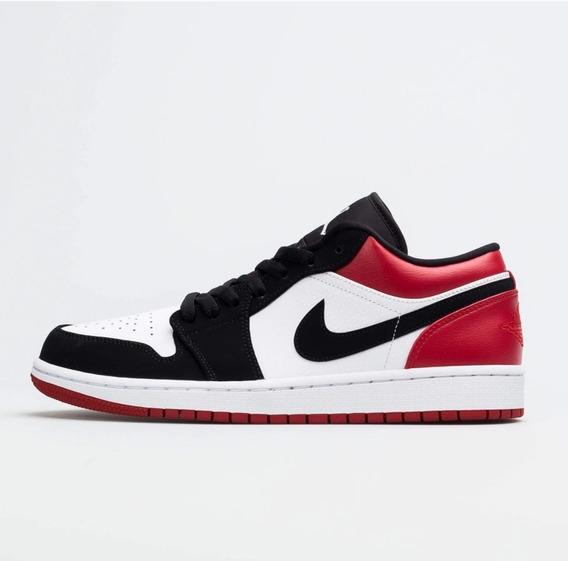 Air Jordan 1 Low Black Toe 12 Us