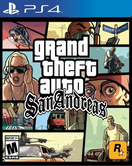 Grand Theft Auto San Andreas Ps4 Promoção