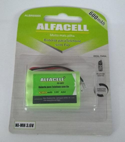 Bateria Alfacell 3,6v Albr65005 600mah Ni-mh