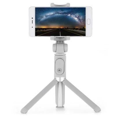 Bastão Retrátil Tripé Controle Bluetooth Selfie Xiaomi Promo