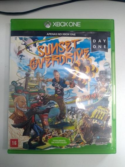 Sunset Overdrive- Xbox One Original Em Mídia Física