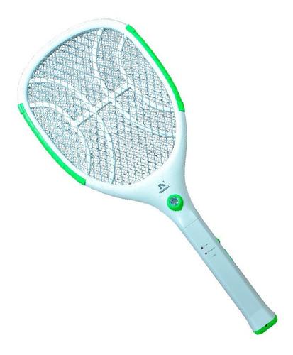 Raquete Elétrica Original Nsbao Com Lanterna Mata Mosquito
