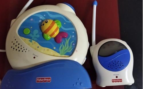 Radio Monitor Proyector Acuario Fisher Price