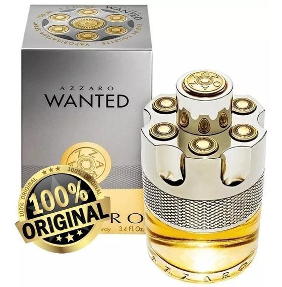 Perfume Azarro Wanted 100ml Edt Original Lacrado Promoção