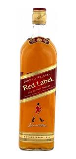Whisky Escocés Johnnie Walker Rojo (litro) 100 % Original